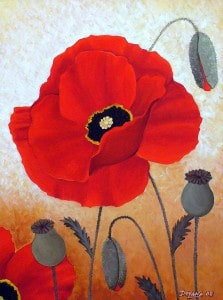 Deyana Deco Poppies-I